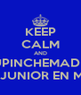KEEP CALM AND SUPINCHEMADRE SUPER JUNIOR EN MÉXICO - Personalised Poster A4 size