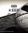 KEEP CALM AND SUPORT 76ers - Personalised Poster A4 size
