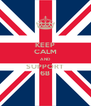 KEEP CALM AND SUPPORT 6B - Personalised Poster A4 size