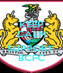 KEEP CALM AND SUPPORT  BCFC - Personalised Poster A4 size