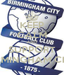 KEEP CALM AND SUPPORT BIRMINGHAM CITY - Personalised Poster A4 size