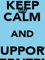 KEEP CALM AND SUPPORT COVERNTRY F.C - Personalised Poster A4 size