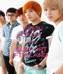 KEEP CALM AND SUPPORT FTISLAND - Personalised Poster A4 size