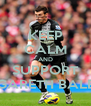 KEEP CALM AND SUPPORT GARETH BALE - Personalised Poster A4 size