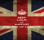 KEEP CALM AND SUPPORT ITALIANS OF LONDON - Personalised Poster A4 size