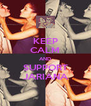 KEEP CALM AND SUPPORT JARIANA - Personalised Poster A4 size