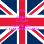 KEEP CALM AND SUPPORT KATIE IN  COMPETITIONS! - Personalised Poster A4 size