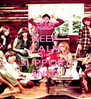 KEEP CALM AND SUPPORT SNSD - Personalised Poster A4 size