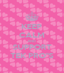 "KEEP CALM AND SUPPORT TEK PRO""S - Personalised Poster A4 size"