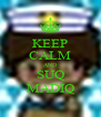 KEEP CALM AND SUQ MADIQ - Personalised Poster A4 size