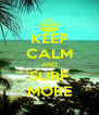 KEEP CALM AND SURF MORE - Personalised Poster A4 size