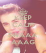 KEEP CALM AND SWAAA AAAG - Personalised Poster A4 size