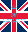 KEEP CALM AND TAG 15 PEOPLE WHO MADE YOUR 2015 - Personalised Poster A4 size