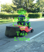 KEEP CALM AND Taia L'erba - Personalised Poster A4 size