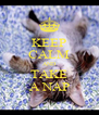 KEEP CALM AND TAKE A NAP - Personalised Poster A4 size