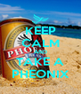KEEP CALM AND TAKE A PHEONIX - Personalised Poster A4 size