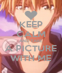 KEEP CALM AND TAKE A PICTURE WITH ME - Personalised Poster A4 size