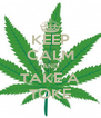 KEEP CALM AND TAKE A TOKE - Personalised Poster A4 size