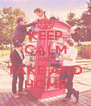 KEEP CALM AND TAKE AND HOME - Personalised Poster A4 size