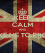 KEEP CALM AND TAKE ME TO PROM?  - Personalised Poster A4 size