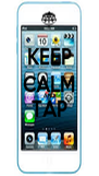 KEEP CALM AND TAP  - Personalised Poster A4 size