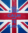 KEEP CALM AND TE FUISTE - Personalised Poster A4 size