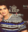 KEEP CALM AND Te vivo Meu nego . - Personalised Poster A4 size