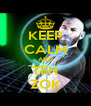KEEP CALM AND TEH ZOK - Personalised Poster A4 size