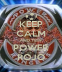 KEEP CALM AND TEIN POWER ROJO - Personalised Poster A4 size