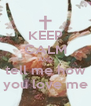 KEEP CALM AND tell me how you love me - Personalised Poster A4 size