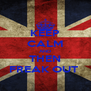 KEEP CALM AND THEN FREAK OUT  - Personalised Poster A4 size