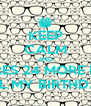 KEEP CALM AND THERES 24 MORE DAY TILL MY BIRTHDAY - Personalised Poster A4 size