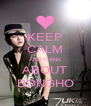 KEEP CALM AND THINK ABOUT DONGHO - Personalised Poster A4 size