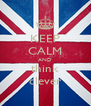 KEEP CALM AND think clever - Personalised Poster A4 size