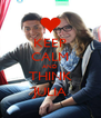 KEEP CALM AND THINK JULIA - Personalised Poster A4 size