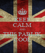 KEEP CALM AND THIS PABLIK COOL - Personalised Poster A4 size