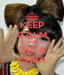 KEEP CALM AND THITA CHIGI - Personalised Poster A4 size