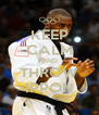 KEEP CALM AND THROW IPPON - Personalised Poster A4 size