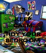 KEEP CALM AND TIDY YOUR BEDROOM - Personalised Poster A4 size