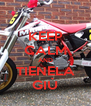 KEEP CALM AND TIENELA GIÙ - Personalised Poster A4 size
