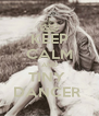 KEEP CALM AND TINY  DANCER  - Personalised Poster A4 size