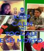 KEEP CALM AND TOCCALI  E SEI MORTO  - Personalised Poster A4 size