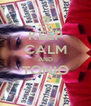 KEEP CALM AND TONIO  - Personalised Poster A4 size