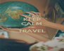 KEEP CALM AND TRAVEL  - Personalised Poster A4 size