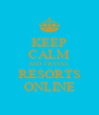 KEEP CALM AND TRAVEL RESORTS ONLINE - Personalised Poster A4 size