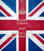 KEEP CALM AND TRAVEL TO ENGLAND CHAP - Personalised Poster A4 size
