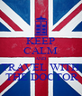 KEEP CALM AND TRAVEL WITH  THE DOCTOR - Personalised Poster A4 size