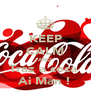 KEEP CALM AND Traz a coca  Ai Man ! - Personalised Poster A4 size