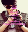KEEP CALM AND Trending HappyYeolliDay - Personalised Poster A4 size