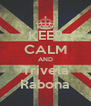 KEEP CALM AND Trivela Rabona - Personalised Poster A4 size